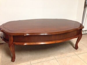 Hardwood Coffee Table - Mint Condition Antique