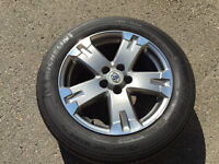 4 Toyota Rav4 Sport Mags on Michelin Tires with Lock Nuts & Key