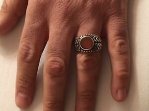 Two Silver rings size 10.5/11