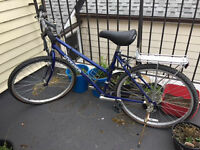 Women's hybrid bike, excellent condition, barely used