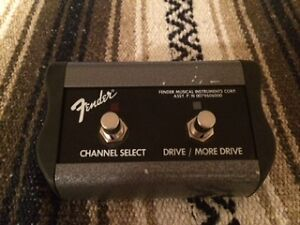 FENDER Channel select /Drive pedal