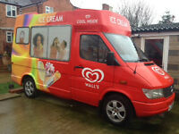 Ice Cream Van Hire Sutton Coldfield Birmingham