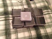 65 Empty CD Cases
