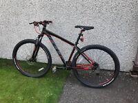 Felt Nine 60 hard tail mountain bike (as new)
