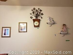 Prints, Sconces, Cork Board, Decor - A