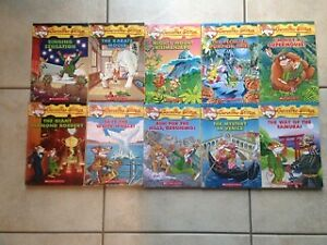 Geronimo Stilton FULL COLOUR Chapter Book Set for Sale