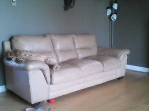 leather couch SOLd