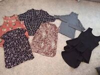 Section of Ladies tops Size 8 & 10 Excellent condition