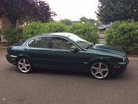 Jaguar X-Type Emerald Fire Metallic==Diesel-Automatic-2.2D Sovereign 4dr automatic-Stunning