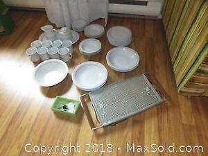 Dishes Salton tray and more A
