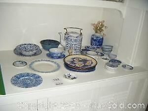 Blue And White China A