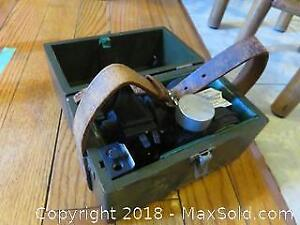 Vintage US Army Octant - A