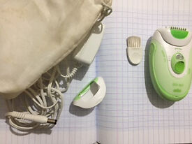 Braun Silk Epil Leg and Body Epilator and Shaver
