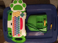 LeapFrog My First Computer Click Start Keyboard&Console System