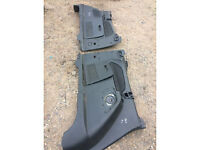 ford galaxy mk3 3rd row door card black with speakers call parts thanks
