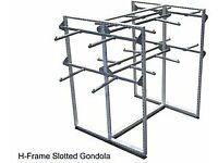 Hanging Display Gondola - Good Condition