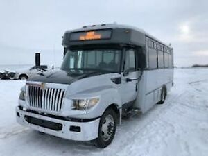 2013 DIESEL  24 PASSENGER  BUS WHEEL CHAIR ACCESSIBLE