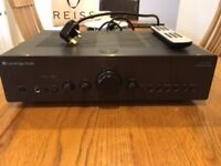 Cambridge Audio Azur 650A Integrated Amplifier with remote