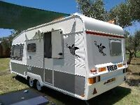 WANTED PERMANENT STORAGE FOR TOURING CARAVAN