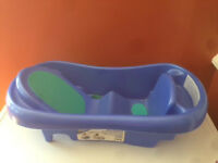 Newborn-toddler tub