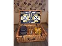 Traditional Wicker Picnic Hamper