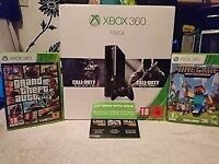 XBOX 360 NEW VERSION 500GB & GAME BUNDLE