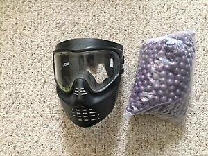 Paintballs and Mask for Sale!!!