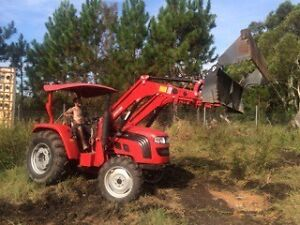 2014 three-in-one bucket lovol tractor + forklift attachment Summerland Point Wyong Area Preview