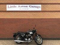 AJS Model 16 350cc 1967, Black & Chrome in Excellent Condition