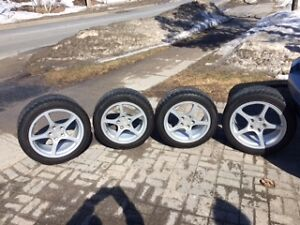 OEM C5 Corvette rims and tires