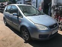 Ford Focus C-Max 2005 1.6 Petrol Blue - Breaking For Spares