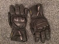 Richa Leather Motorcycle Gloves (waterproof)