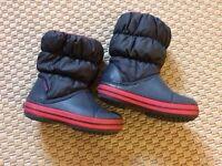 Crocs boys boots, size 8