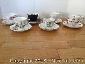 Tea Cups and Saucers Lot 2 A