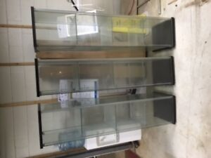 3 GLASS SHOW-CASES FOR SALE!!!!