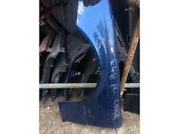 bmw e46 coupe blue wing panel for sale call parts pre face lift