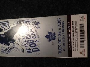 MAPLE LEAF TICKETS!!! GREAT PRICE