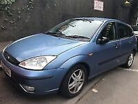 ford focus zetec 2002 1.8 petrol blue 5dr Breaking For Spares