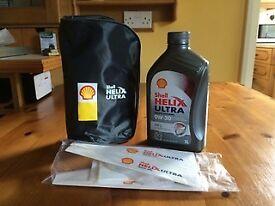 Shell Oil - 1 Litre Top-Up Kit 0W-30 Oil