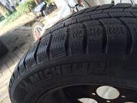 Winter Tires: Michelin Pilot Alpin 215/55R16