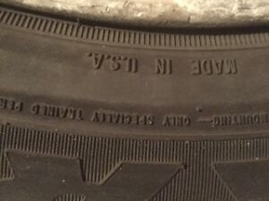 Goodyear Nordic 4 Winter Tire 225/60/17 On Alloy Rims Cornwall Ontario image 2