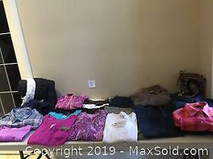 Ladies Clothing Lot and Sorel Snow Drift Ladies Boots Size 11