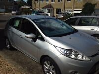2010 Ford Fiesta, only 22k miles, good condition, owned from new, MOT to Sept'17 & Tax to Aug'17