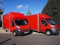 LWB SMALL OR LUTON VAN HIRE 7.5 TONNE LORRY TRUCK REMOVALS SERVICE WITH A DRIVER AND MAN MOVERS