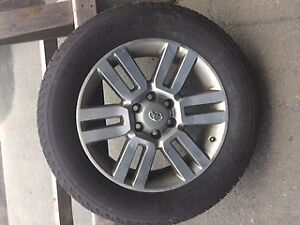 4 Winter Tires and Rims for Toyota 4 Runner