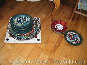 Tray And Plates A