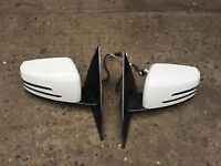 mercedes e class coupe w207 amg facelift wing mirrors full set complete units for sale or fitted