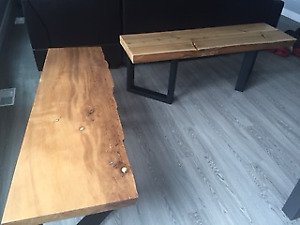 Locally Designed Live Edge Coffee Tables-free delivery in Vic!
