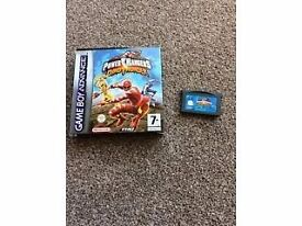 Power rangers gameboy advance game