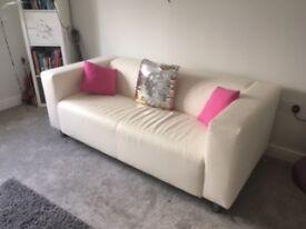 IKEA Sofa, KLIPPAN, WHITE, EXCELLENT CONDITION
